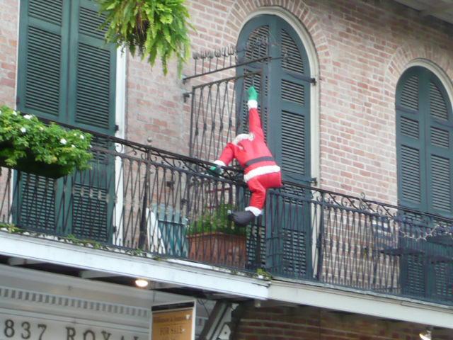 Santa up