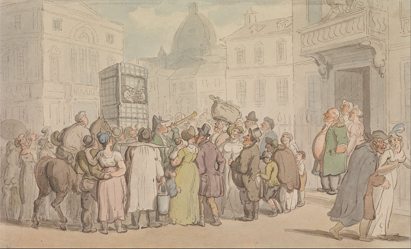 Thomas_Rowlandson_-_A_Punch_and_Judy_Show_-_Google_Art_Project