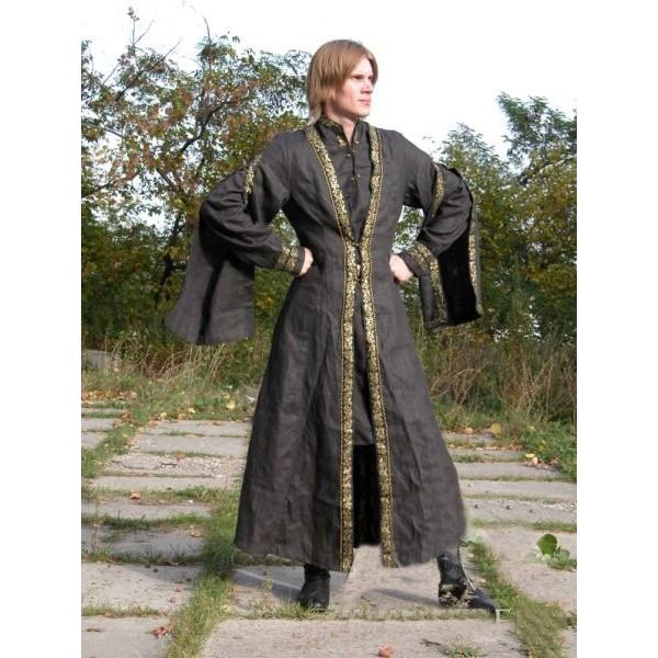 Gray-medieval-warrior-tunic-for-men