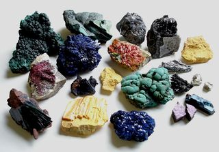 Selection of Minerals
