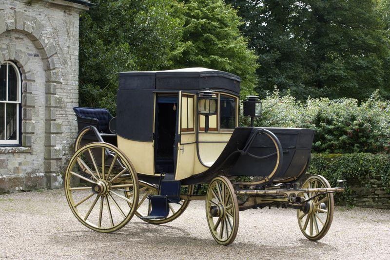 Antrobus travelling chariot