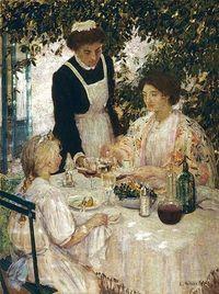 E. Phillips FOX - Déjeuner, 1911