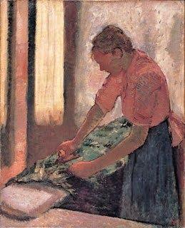 DegasWoman Ironing 1870s