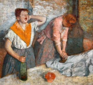 Degaswomen-ironing