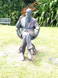 Noel Coward statue at Firefly