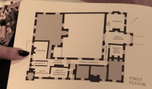 My research turned up this floorplan of Baddesely-Clinton-first-floor