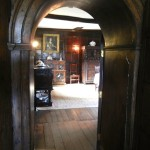 No research like being there. I took this shot through a doorway and hope to find the original so I can post a larger one! I could easily live at Baddesley Clinton.