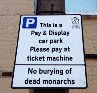 Richard III car park