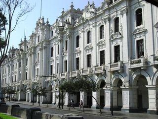 A grand Lima facade
