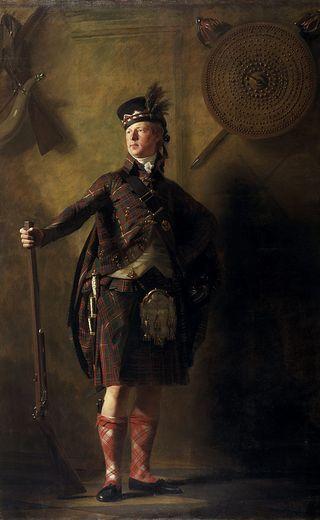 Raeburn_macdonell of glengarry
