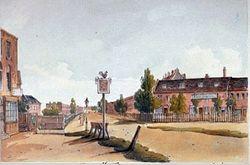 Horse trough in Lambeth