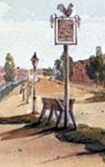 Horse trough in Lambeth detail