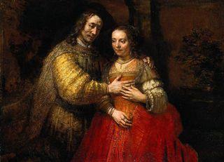 Rembrandt TheJewishBride1667