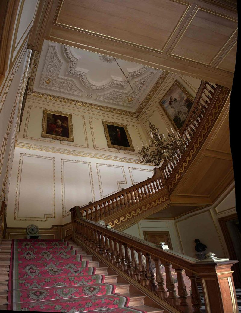 Staircase Hall, Belton