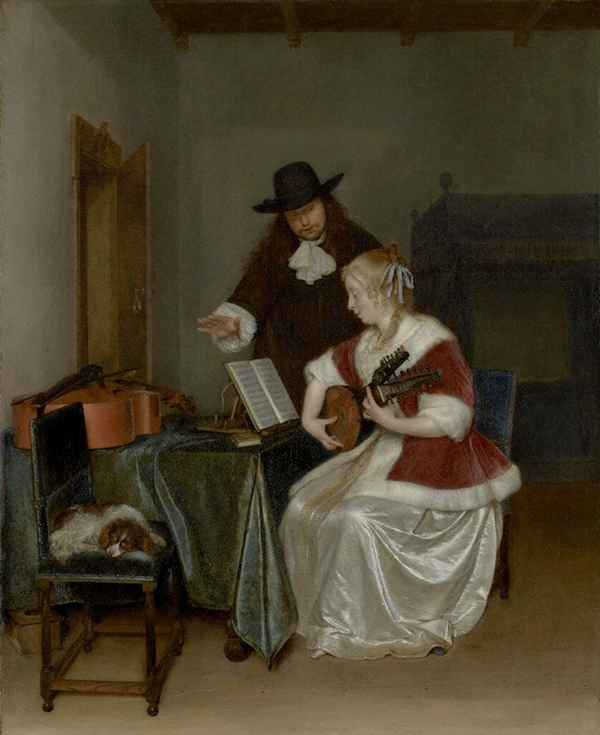 Wench terburgh the music lesson