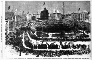LaborDayParade, NYC 1882