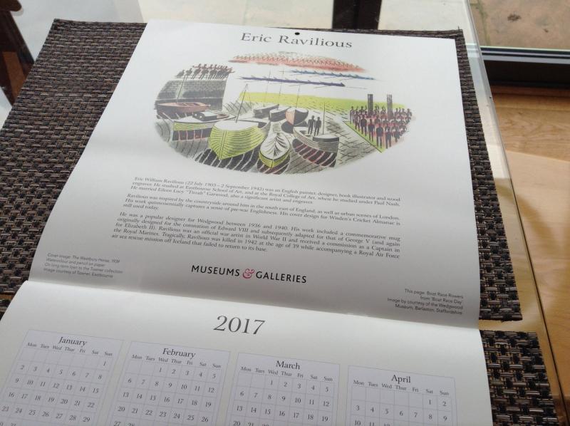 Ravilious calendar