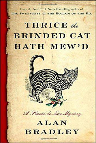 Bradley thrice the cat