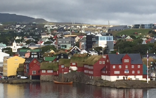 Torshaven in Faroes