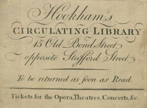 Lending library card
