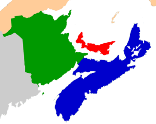 Map of the Maritime Provinces