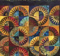 Spirals of color