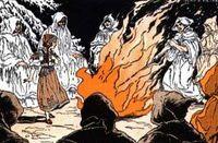 Wenches samhain bonfire