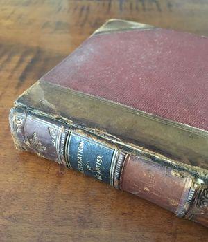 Old book-closeup
