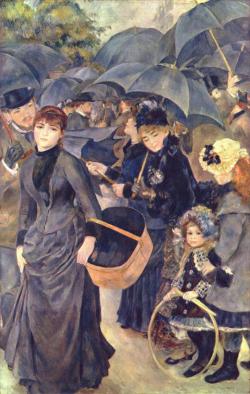 Renoir-umbrellas