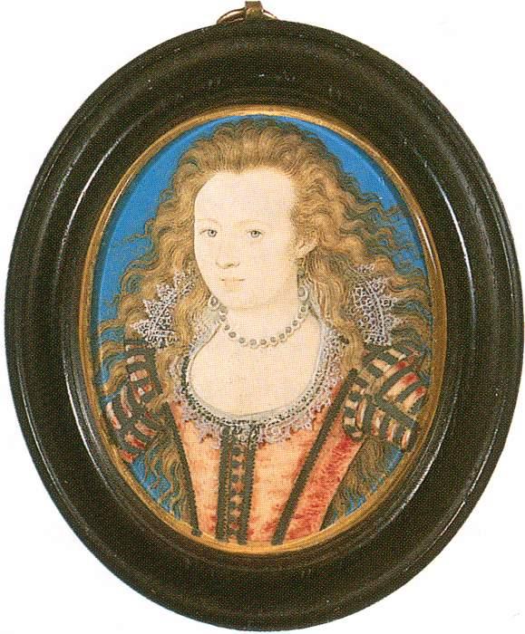 Elizabeth of Bohemia by Nicholas Hilliard