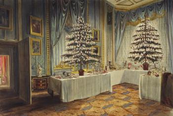 Queen Victoria's Xmas tree