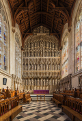 New College altar and stalls
