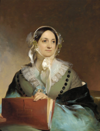 Eliza Leslie, 1844, by Thomas Sully