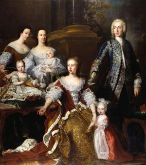 Augusta Of Saxe-Gotha Family