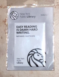Library magnet