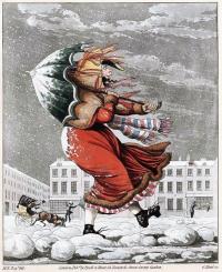 Snow umbrella 1825 b