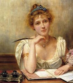 Lady author