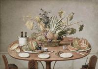 Wench c.1810 Jean Louis Prevost- Still life
