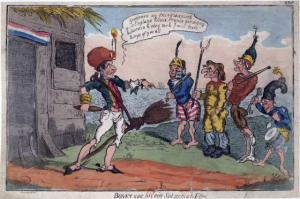 Boney-and-his-new-subjects-at-Elba-caricature