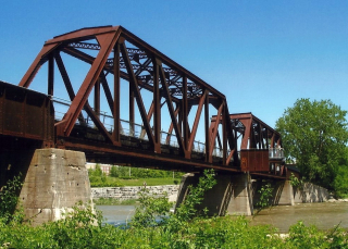 Brantford Bridge by A__ Williamson