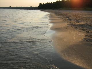 Port Elgin beach at sunrise