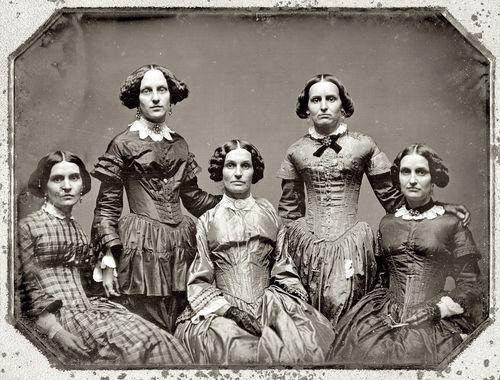 Frances johnston aunts 1850s