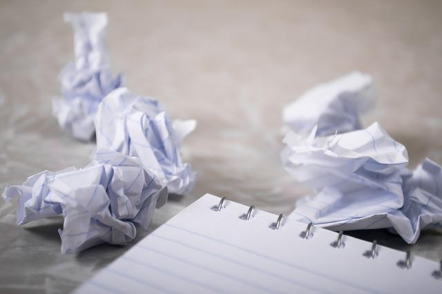 Writer frustration
