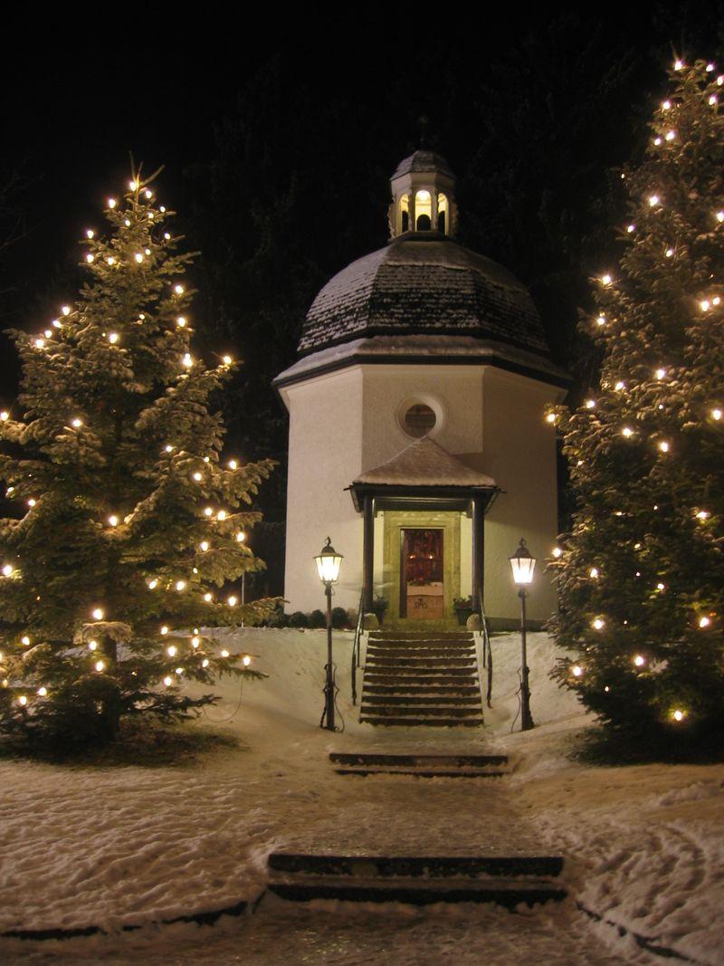 Silent Night memorial chapel