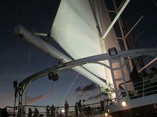 Unfurling the sails