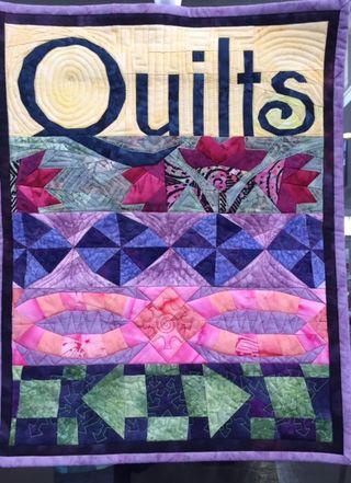 Quilt signage quilt