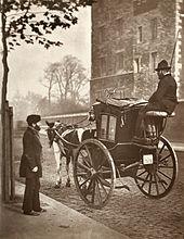 Hansom cab 1877