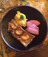 Breakfast at La Auberge Provencale
