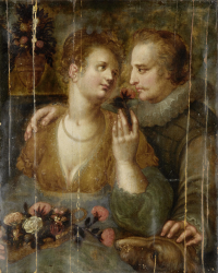 Hendrik_Goltzius_(attr)_Courting_scene, via Wikimedia commons