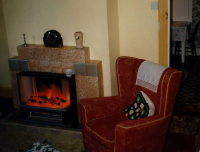Sitting room fire wales